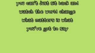 Miley Cyrus-Make some noise- with lyrics