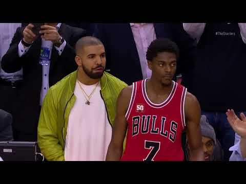 Top 10 NBA Celebrity Reactions-The Starters