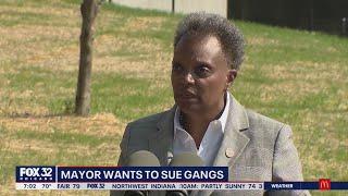 Mayor Lori Lightfoot wants to sue Chicago gangs