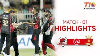 Match 1 Highlights, Rajputs vs Sindhis, T10 League Season 2
