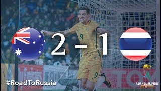 Australia vs Thailand (2018 FIFA World Cup Qualifiers)