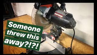 Saving this Craftsman Miter Saw From Being Trashed