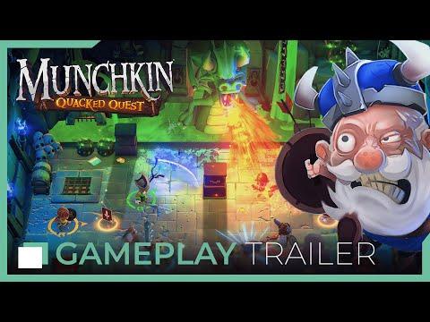Munchkin: Quacked Quest - Gameplay Trailer thumbnail