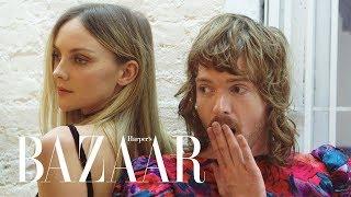 We Found Fresh-Off-The-Runway Looks In A Thrift Store   WTFashion?!   Harper's BAZAAR