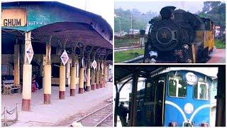 Ghum Railway Station - highest railway station in India