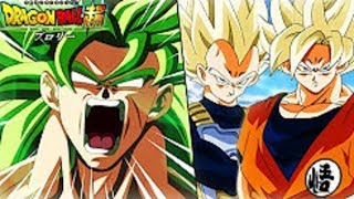 GOKU & VEGETA VS BROLY POWER LEVELS OVER THE YEARS