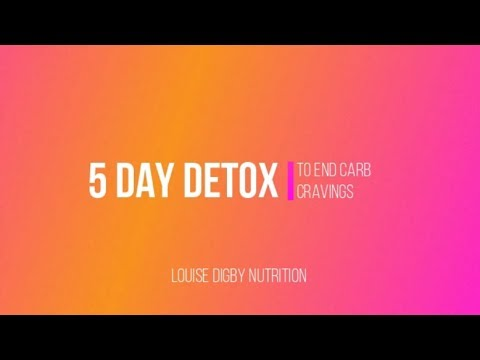 5 Day Detox To Curb Carb Cravings