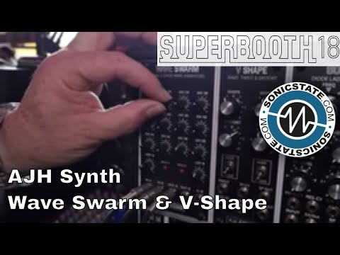 Exclusive videos superbooth 2018 ajh synth wave swarm v shape fandeluxe Gallery