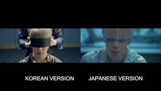 BTS - Blood Sweat and Tears (Korean x Japanese)