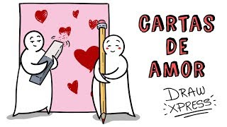 CARTAS DE AMOR 💖 DIY TARJETA SAN VALENTÍN EN 3D | Draw My Life