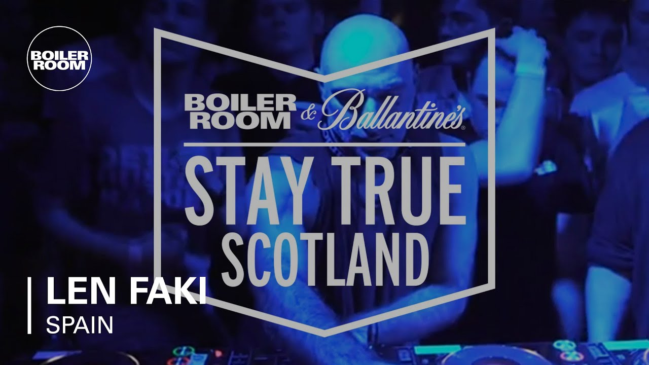 Len Faki - Live @ Boiler Room & Ballantine's Stay True 2015