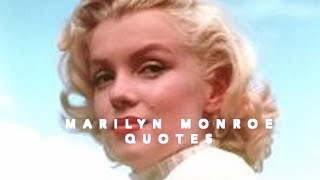 Great Marilyn Monroe Quotes
