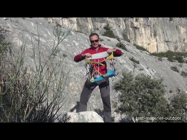 Видео Страховочная система Singing Rock Onyx