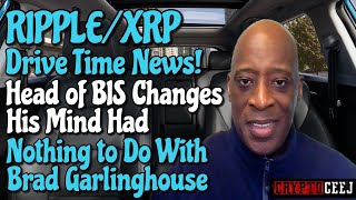 Xrp Ripple NEWS: The head of the BIS changes his mind had nothing to do with Brad garlinghouse