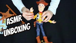 ASMR - Toy Story Woody Figur Unboxing (German/Deutsch)