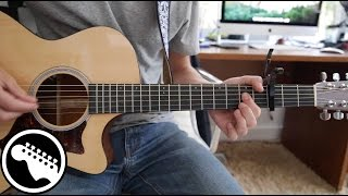 """""""Free Fallin'"""" By John Mayer Live   Acoustic Guitar Lesson (Originally Played By Tom Petty)"""