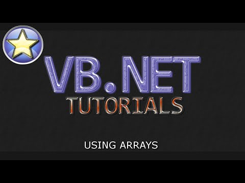 VB.NET Tutorial For Beginners – Using Arrays (Visual Basic .NET)