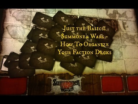 Just the Basics: Summoner Wars - Organizing Faction Decks