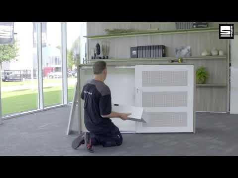 SWAN Slide & Go interieur montage uittrekbare lade