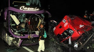 Two injured in four-vehicle crash on NSE