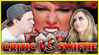 THE GREAT TAYLOR SWIFT DEBATE! (Swiftie VS Critic)