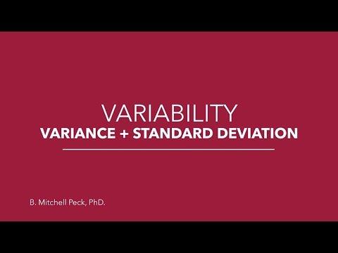 Social Statistics - Variability: Variance + Standard Deviation - YouTube