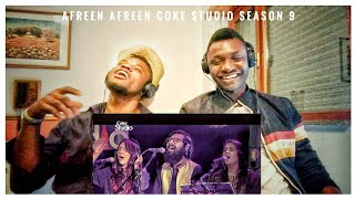 Afreen Afreen Coke Studio Season 9 | Reaction By Crazy Squad