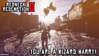 Top 10 Red Dead Redemption 2   Funny Moments Compilation # 2