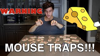 Not My Arms Challenge: MOUSE TRAP EDITION! // Dolan Twins