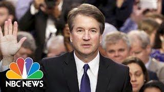 Watch Live: Brett Kavanaugh Supreme Court Confirmation Hearing   NBC News