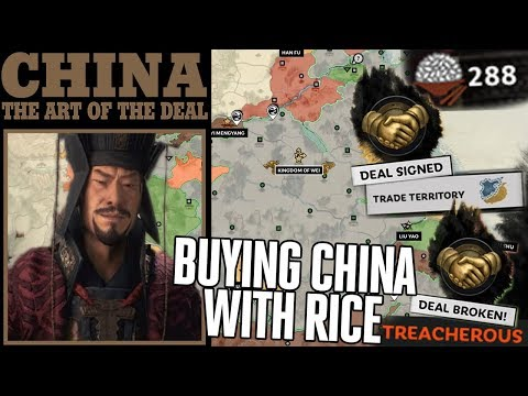 Peacefully Conquering China with Rice | Broken Diplomacy Trading - Total War: Three Kingdoms