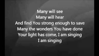 Chris Tomlin - You Lifted Me Out with Lyrics