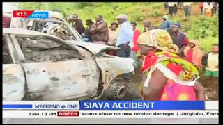 Two people die after two vehicles collide in Siaya