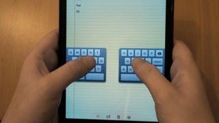 iPad Mini Keyboard Tips - Undock, Split and Number Shortcuts