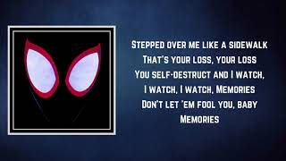 Thutmose - Memories (Lyrics)