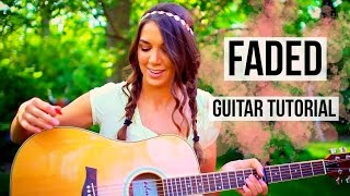 Faded - Alan Walker // Fingerpicking + Strumming Guitar Tutorial