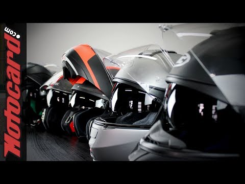 Los 5 mejores cascos abatibles de fibra: comparativa en Motocard.com