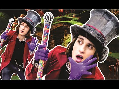 DIY FANTASIA WILLY WONKA/ FESTA A FANTASIA #ACRILEX