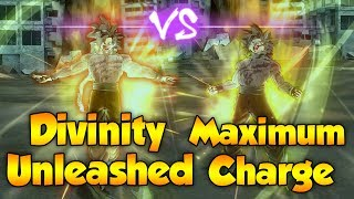 Divinity Unleashed vs Maximum Charge! Divinity Unleashed Explain! - Dragon Ball Xenoverse 2