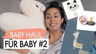 NEUE BABY PRODUKTE FÜR BABY#2 BABY HAUL - BIBS SCHNULLI, BABY DECKE, STILLKISSEN
