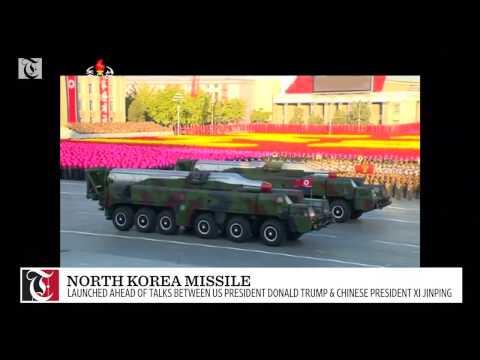 North Korea launches missile ahead of U.S.-China talks