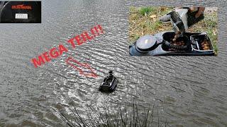 SUPER GÜNSTIGES FUTTERBOOT!!! Boatman -  Unboxing, TEST