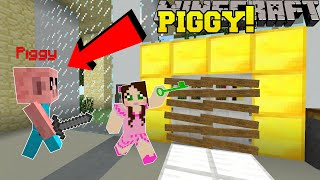 Minecraft: ESCAPE PIGGY'S MALL! (FIND KEYS & ITEMS TO ESCAPE!) Modded Mini-Game