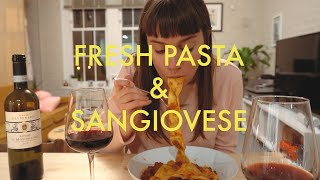 Drunk Cooking Ep. 1: Fresh Pasta & Sangiovese