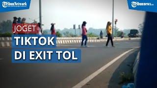 Viral Video 7 Wanita Joget TikTok di Exit Tol Pekalongan, Polisi: Sudah Diketahui Identitasnya