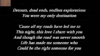 Collin Raye - All My Roads ( + lyrics 1998)