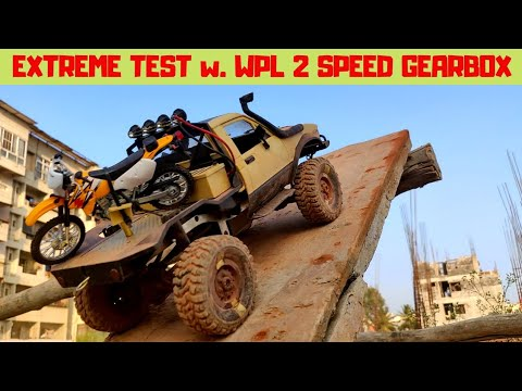 EXTREME TEST | WPL 2 SPEED GEARBOX | WPL C14