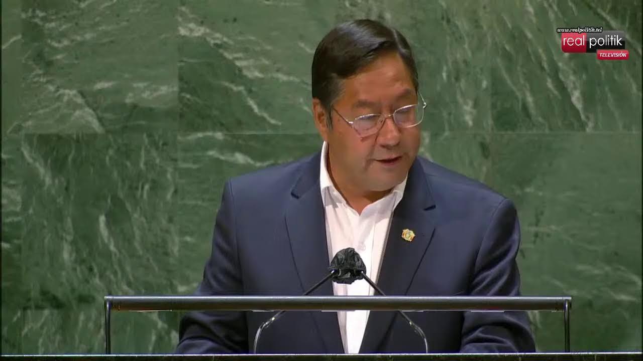 Ante la ONU, Luis Arce denunció a Macri y la OEA por el golpe de Estado en Bolivia