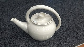 Making A Ceramic Teapot For Yourself