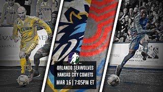 Orlando SeaWolves vs Kansas City Comets